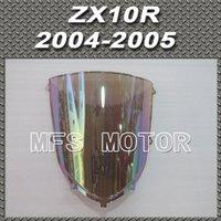 Wholesale Iridium Windshield Windscreen For Kawasaki NINJA ZX10R ZX R