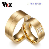Wholesale New Arrival Vintage CZ Couple Ring for Women Men K Gold Plated Wedding Imitation Diamond Jewelry Christmas party gift