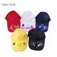 solar fan cap - TOP Colors Choose Summer Baseball Hat Cotton Cap Sport with Solar Sun Power Cool Fan For Golf Snapback Outdoor
