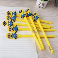 Wholesale Beautiful Rollerball Pen Promotional Gift Rollerball Pen Cute Minions Pen Rollerball Pen Despicable Me Cartoon Pens Creative Stationery