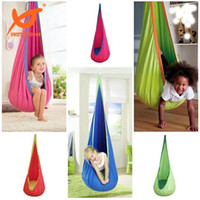 baby swing high chair - Portable High Strength Heavy Duty Cotton Baby Hanging Swing Hammock Child Hanging Swing Seat Chair