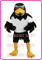 Custom Made adult eagle - Plush Falcon Mascot Costume Adult Size Eagle Mascotte Mascota Carnival Party Cosply Costume Fancy Dress Suit Fit SW1137