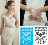 armed vogue - Fashion Lace Tattoo Sticker Top Selling Vogue Black And White Color Lace Mixed Order Temporary Tattoos Sticker For Women