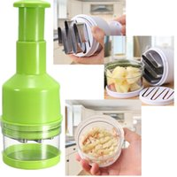 onion slicer - New Pressing Vegetable Kitchen Garlic Onion Food Slicer Peeler Cutting Cutter Slicer order lt no tracking