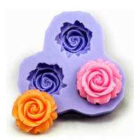 resin molds - Cake Mold Creative Sweet Flower New Silicone Baking Mold Fondant Molds Cookies Chocolate Sugar Kitchen Craft Tools Non Toxic Baking Resin