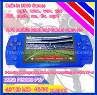 android game player - Factory HOT SELL GB Inch PMP Handheld Game Player MP3 MP4 MP5 Player Video FM Camera Portable Game Console