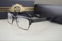 achat en gros de boîte de gros lunettes-Gros-Dita Statesman Lunettes Cadre Oculos Masculino avec boîte d'emballage Half-Rim Vintage Lunettes Lunettes Mode cadre Dita