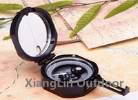 army surplus camping - Harbin Professional Liquid Filled Pocket Geology Compass DQY Survival Army Surplus Tourist Camping Equipment Mirror Optical