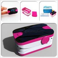 Wholesale 20PCS Best Sale CE FDA Pink Health care ER OLED Display Finger Pulse Oximeter Blood Oxygen SPO2 PR Oximetro Monitor Free ship
