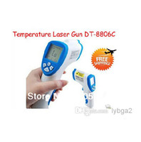 Wholesale 2PCS LCD Digital Non Contact Precise Medical Body Infrared Thermometer Temperature Laser Gun DT C