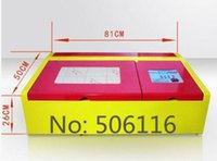 Wholesale 40W CO2 Laser Engraving Cutting Machine Engraver Cutter USBPortHighPrecise