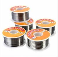 100 g 63/37 plomo de la lata base de la resina 0,5-2 mm 2% Wire Flux Carrete Línea de soldadura Soldadura