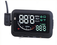 Wholesale obd2 interface Water temperature Voltage speed alarm reminder car hud