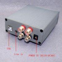 amp digital input - HIFI EXQUIS TDA7498E digital amp Wx2 with USB audio decoding DAC and analogic dual input amplifier