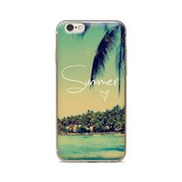 beach gel - For iPhone S S C S Plus Summer Beach Heart Of Skin TPU Silicone Gel Protective Cover