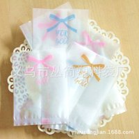 Wholesale Mid Autumn Festival translucent butterfly knot pattern moon cake packaging bags of biscuits CM
