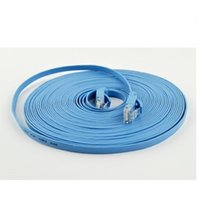 utp cat 6 cable - 15ft m CAT6 CAT Flat UTP Ethernet Network Cable RJ45 Patch LAN cable