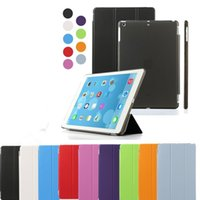 Wholesale ipad air2 mini4 Front Back Smart Cover Matte Case Full Body Protection for ipad air mini retina