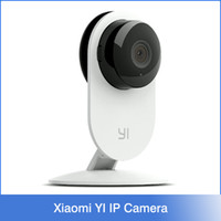 Xiaomi YI Negro sin hilos de HD 720P de infrarrojos de visión nocturna para la cámara de circuito cerrado de televisión de seguridad Smart Home Mi Xiaoyi vigilancia hormigas