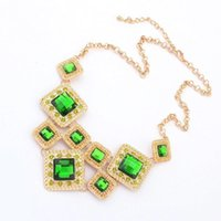 resin lucite - statement necklaces New arrival fashion accessories jewelry decorated short necklace for women CPA174