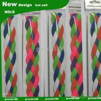 Wholesale new souvenirs NON SLIP ropes Braided Headband four ropes woven headband soft braided mini headband