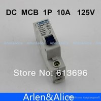Wholesale 1P A DC V Circuit breaker MCB A5