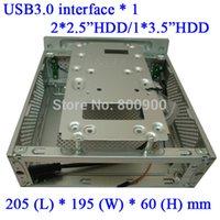 Wholesale client chassis host case Aluminum MINI ITX HTPC USB3 exquisite HD Home Theater ITX