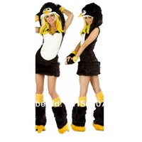 Wholesale Games Club Penguin Anime Cosplay Costumes Halloween Party Stage Costumes Animal Themed Costumes halloween costumes for women