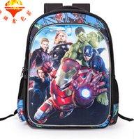backpack animation - NEW Children Cartoon School bags Children Shoulders School Bags years childish Animation School Bags V1DB65