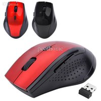 Wholesale Big Discount GHz Wireless Optical Gaming Mouse Mice USB Receiver For Laptop Desktop PCcomputer mouse SV20 SV006325
