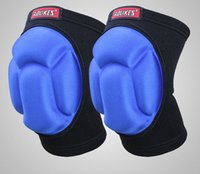 Wholesale Sports Kneepad Football Volleyball Knee Pads Thick Sponge Knee Movement Knee Brace Dance Practice Hip hop Bow Collision Of Extreme Sports