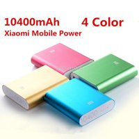 Cheap 1pcs Original Xiaomi Power bank Real capacity 10400mAh External Battery Pack for Xiaomi M2 M2A M2S M3 Red Rice Cell phones