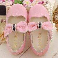 Wholesale Luxury Genuine Leather Baby Shoes Children Flats Shoes Cut out Baby Girls Shoes Toddler Girls Shoes Soft Sole First Walkers