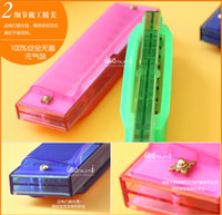 Wholesale Orf Musical Instruments Harmonicas plastic year kid children chritmas gift bag teaching toys holes
