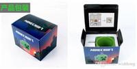 cup - 2014 New Arrived Minecraft Creeper JJ Coffee Cup Green Drinkware Tumbler Tumblerful Retail Box K128f