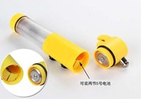Wholesale 4 in Car Auto Emergency Safety Life Hammer LED Flashlight knife Good Quality retail package