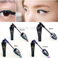 best blue mascara - A16 New Waterproof blue purple black brown best mascara charming longlasting makeup new high quality IB025 P