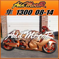 abs unique gift - Addmotor Injection Mold Fairing For Suzuki Hayabusa GSXR1300 GSX R Unique Gold Orange S38561 Tank Cover Free Gifts