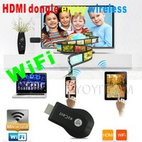 Wholesale hdmi dongle wifi display receiver dlna airplay miracast anycast support ios and android cellphone connect TV by wifi dongle
