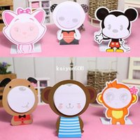 Wholesale x Cartoon Animal Notebook Note Mark Memo Pad School Office Gift A2897