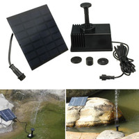 Wholesale High Quality Outdoor Garden Pool Pond Sun Plants Watering Solar Panel Powered Kit Fountain Water Pump