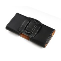 Wholesale Cell Phone PU leather Belt Holster Case for iPhone5S iPhone5C iPhone5 iPhoneSE iPhone4 iPhone4S iPhone3G iPhone3GS with magnetic closure