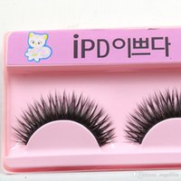 Wholesale 20 pairs from the sale Pure Handmade Natural long False Eyelashes Professional Makeup supply mm Soft Fake Eye Lash