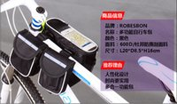 Wholesale 2015 Cycling Bicycle handlebar bag Bike front basket waterproof For Camera