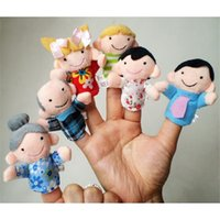baby imagination - Hot Salw Best seller children baby New Soft Family Member Puppet Baby Finger Plush Toys bring kids more fun and imagination jul zk