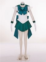 Wholesale SuperS Sailor Moon anime cosplay Kaiou Michiru Sailor Neptune cosplay halloween costumes