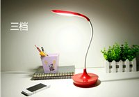 apple desk lamp - 2015 NEW W Dimmable LED desk lamp for Apple student work eye study led lamp energy saving lamp dimmer usb charging