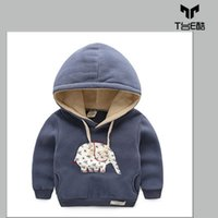 Wholesale Sweatshirts For Boys Children s Down Coat Kids Clothing Winter Warm Wind Style Coat Times Children s Outwear For Girls