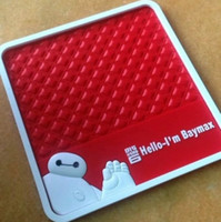 automotive rubber floor mats - 2015 BIG HERO Baymax Car Interior Accessories Automotive interior supplies non slip mat Floor Mats Carpets