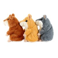 Wholesale Talking Hamster Plush Toy Cute Speak Talking Sound Record Kid Child Toys Gifts Brand New